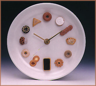 SUSHI CLOCKS: The Donut Clock